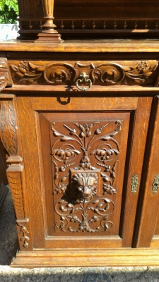 14E DETAIL OF HUNT CABINETS