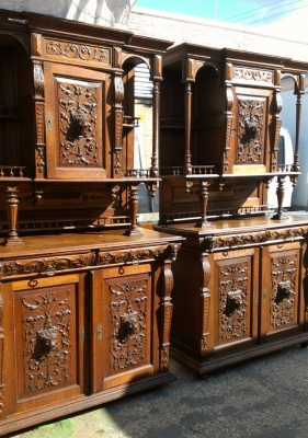 14E PAIR MATCHING HUNTCABINETS