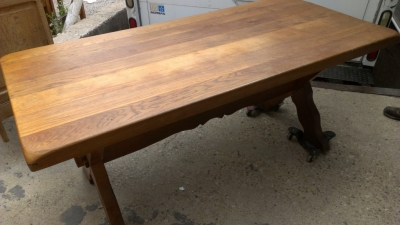 14E SMALL TRESTLE TABLE