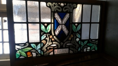 14e stained glass window