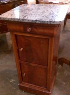 14e louis phillipe marble top stand