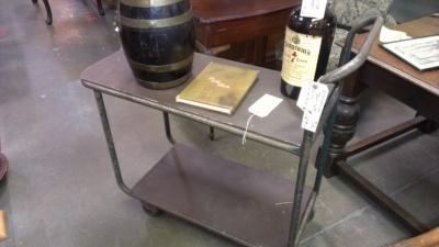 12 Rolling bar cart vintage