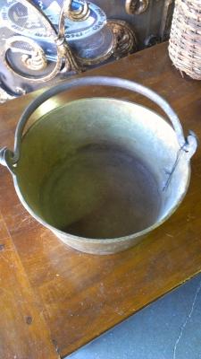 14F02 BRASS JAM PAN