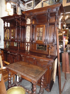14B15006 PAIR OF FRENCH BUFFETS (1)
