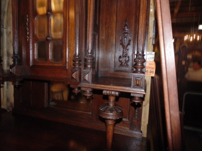 14B15006 PAIR OF FRENCH BUFFETS (3)