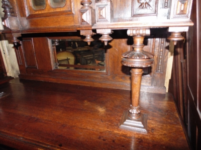 14B15006 PAIR OF FRENCH BUFFETS (4)