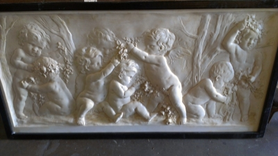 14F093 LARGE CHERUB PLAQUE NOT OLD CAST FROM OLD RELIEF (1).jpg