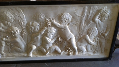 14F093 LARGE CHERUB PLAQUE NOT OLD CAST FROM OLD RELIEF (2).jpg