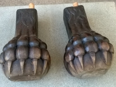 14F06005 PAIR OF CARVED GRIFFIN FEET.jpg