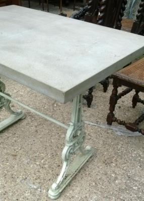 14F06011 ORNATE IRON BASE TABLE WITH CAST STONE TOP (2).jpg