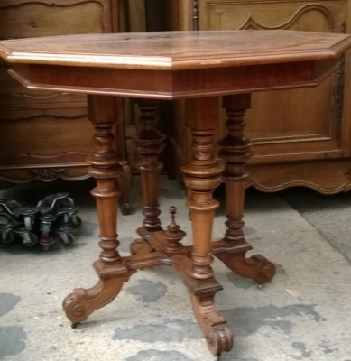 14F06013 AUSTRIAN WALNUT CENTER TABLE  (5).jpg