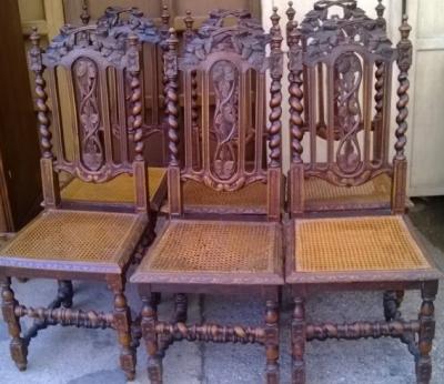 14F06017 SET OF 6 BARLEY TWIST CANED SEAT CHAIRS (1).jpg