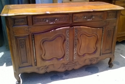 14F06043 LOUIS XV WALNUT SIDEBOARD WITH BREADBOX (2).jpg