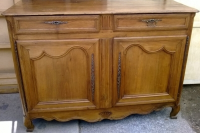 14F06044 EARLY LOUIS COUNTRY FRENCH SERVER WITH 2 DRAWERS  (1).jpg