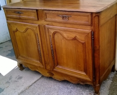 14F06044 EARLY LOUIS COUNTRY FRENCH SERVER WITH 2 DRAWERS  (2).jpg