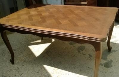 14F06046 DARK OAK LOUIS XV DRAWLEAF TABLE  (1).jpg