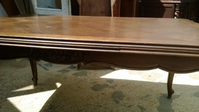14F06046 DARK OAK LOUIS XV DRAWLEAF TABLE  (2).jpg