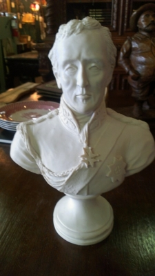 14F09578 DUKE OF WELLINGTON BUST