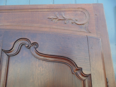 14B15026 PAIR OF PEGGED DOORS IN FRAME (3)