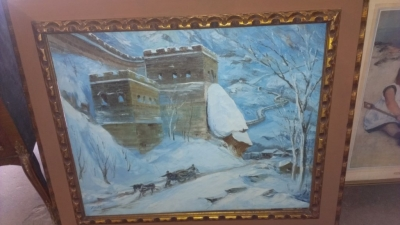 14G144 SERIES OIL OF WINTER SCAPE