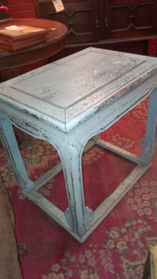36 BLUE SIDE TABLE