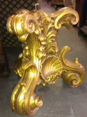 36 ITALIAN CARVED COFFEE TABLE