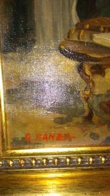 14G144 SERIES G. PANZA OIL OF CARDINAL