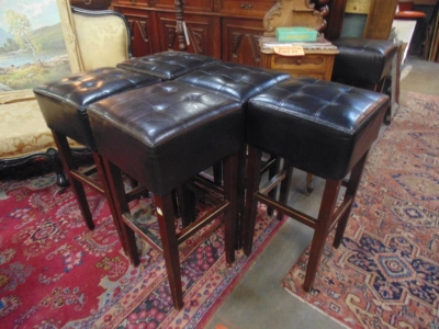 14B15055 SET OF 6 BAR STOOLS