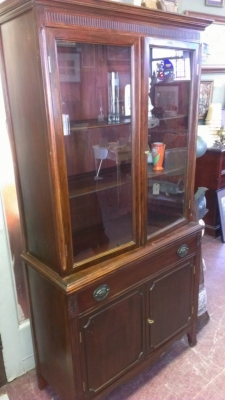 14G28 DUNCAN PHYFE CHINA CABINET