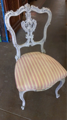 14G28 FRENCH SIDE CHAIR