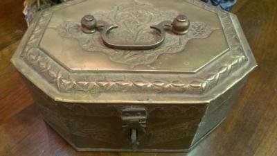 14G28 BRASS BOX