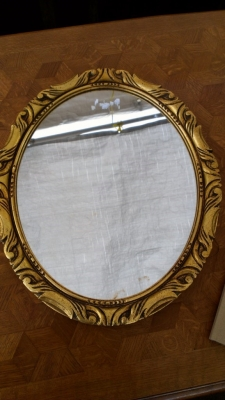 GOLD SMALL MIRROR