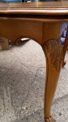 14G27 TABLE DETAIL COUNTRY FRENCH