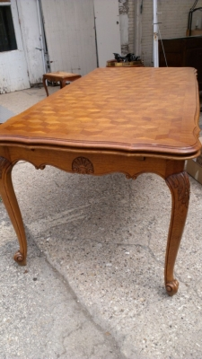 14G27 LONG AND NARROW COUNTRY FRENCH DINING TABLE