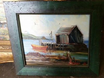 14G28564 HARBOR PAINTING SMALL