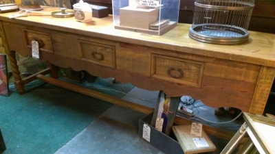 36 86313 LONG CONSOLE TABLE