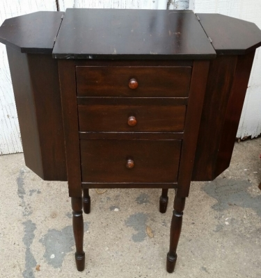 14G28644 MARTHA WASHINGTON SEWING CABINET
