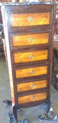 14H LINGIERE CHEST WITH MARBLE TOP