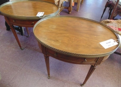 Sold, I\'m sorry..13K25640 PAIR TABLES (1)