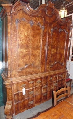 Early burled dutch cabinet.JPG