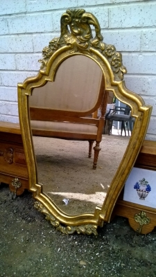 french mirror small