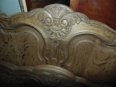 13J24056 RAW OAK COUNTRY FRENCH BED (1)