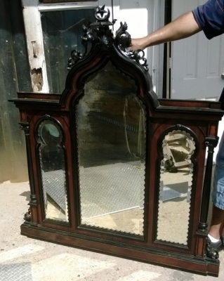 189-French Dresser with Gothic elements (6).jpg