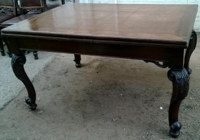 14I16027 ACANTHUS LEAF CARVED OAK DRAWLEAF TABLE  (1).jpg