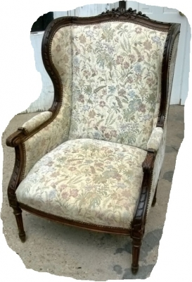 14I16051 LOUIS XVI CARVED WINGBACK CHAIR  (1).jpg