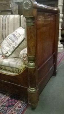 14I29220 EARLY 19TH CENTURY FRENCH DAY BED (4).jpg