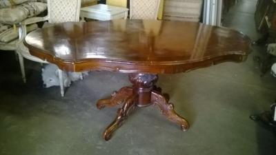14I29222 ITALIAN TURTLE TOP DINING TABLE (1).jpg