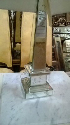 14I29321 PAIR OF LARGE MIRRORED TABLE LAMPS  (2).jpg