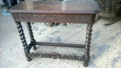 14I29373 DARK OAK BARLEY TWIST HALL TABLE  (1).jpg