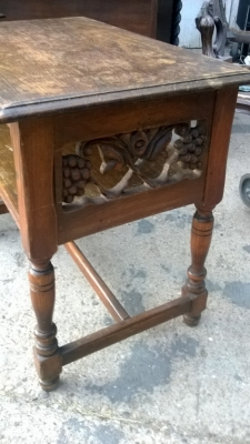 14I29374 PAIR OF CARVED OAK END TABLES  (2).jpg